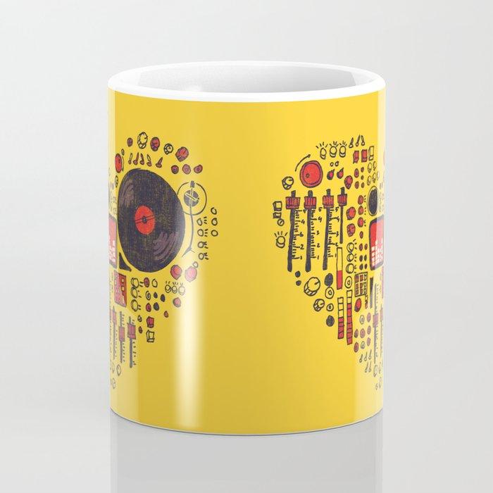 Music in every heartbeat Coffee Mug