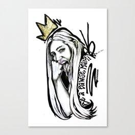 #STUKGIRL MADISEN Canvas Print