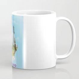 Finland map travel poster. Coffee Mug