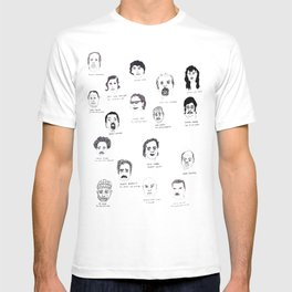 Serial Killers USA, Parts 1&2 T-shirt