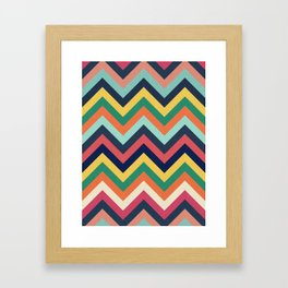 Chevron 24 Framed Art Print