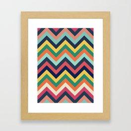 Chevron 24 Framed Art Print