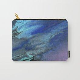 Galaxy Burst - Fluid Acrylic Painting PRINT Carry-All Pouch
