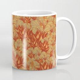 Just Orange Flowers Coffee Mug