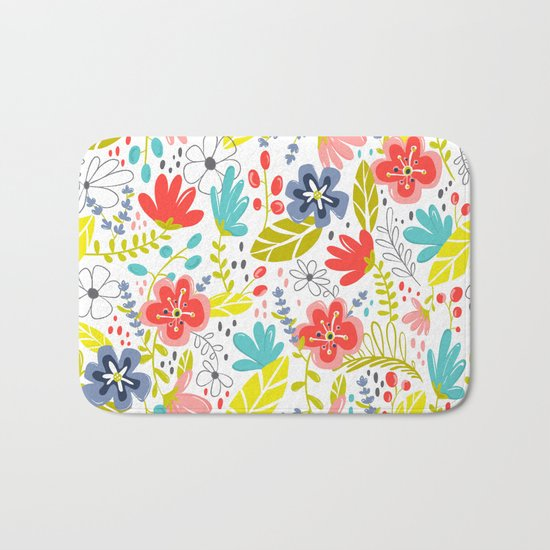 Wildflower Bath Mat