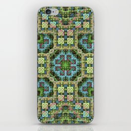 """Needlepoint Sampler"" (3D Fractal) iPhone Skin"