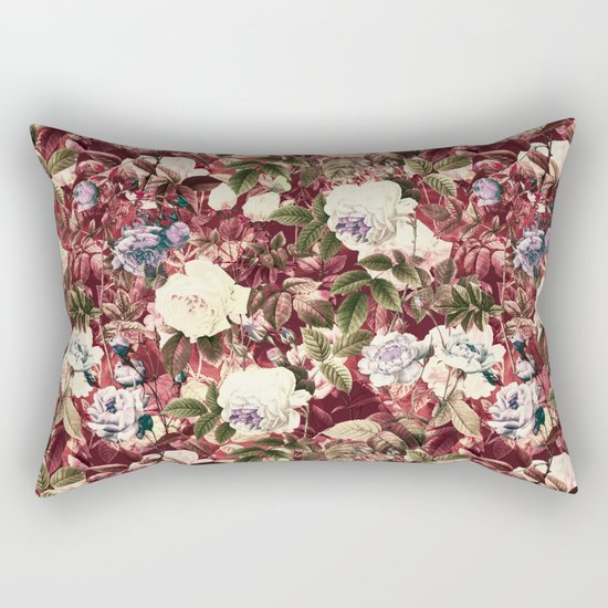 Abstract floral pattern Rectangular Pillow