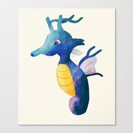Kingdra Canvas Print