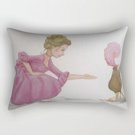 Henderella wants to go to the ball too Rectangular Pillow