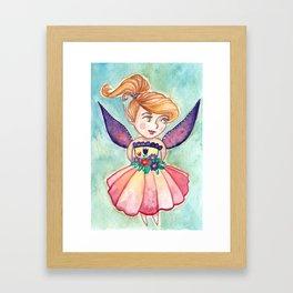 Merry Fairy Framed Art Print