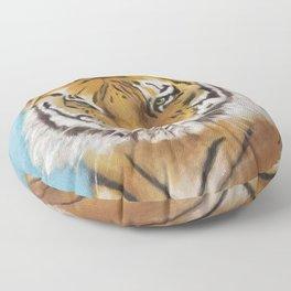 Bengal Tiger Floor Pillow