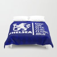 chelsea Duvet Covers featuring Theme Chelsea by Maxvtis