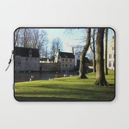Nature and Urban Life. Laptop Sleeve