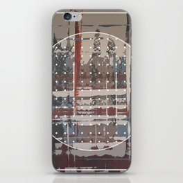 Waterlogged - dot graphic iPhone Skin