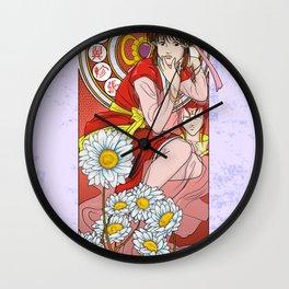 Miaka Nouveau Wall Clock