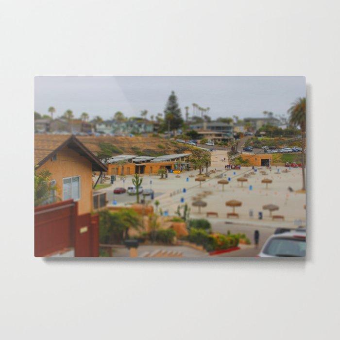 Moonlight Beach Miniature Metal Print