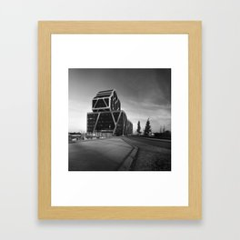 Courthouse in the morning Framed Art Print