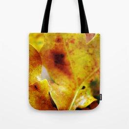 Autumn leaves print. Tote Bag