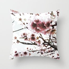 Sakura X Throw Pillow