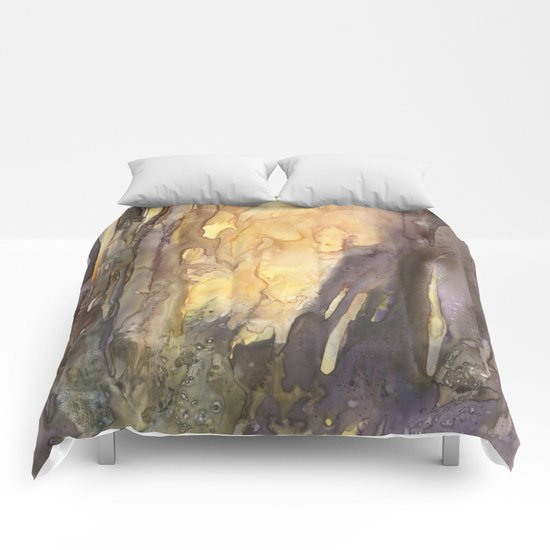 Forest FIRE! Comforters