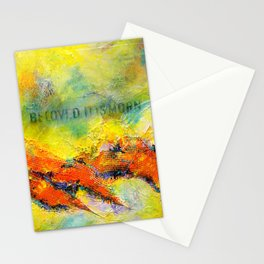 Beloved, it is morn Stationery Cards