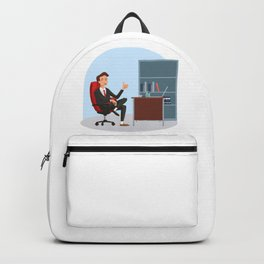 Big Boss National Boss Day Backpack