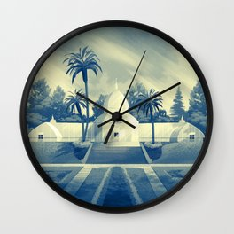 Conservatory of Flowers Wall Clock