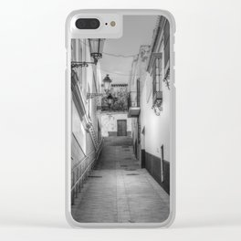White village #2 Clear iPhone Case