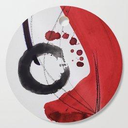Enso Of Zen 102A by Kathy Morton Stanion Cutting Board
