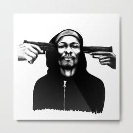 Don't Shoot Me Metal Print