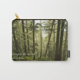 Going to the Woods Carry-All Pouch