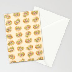 Paisley Watercolor in Tea (tan brown) Stationery Cards