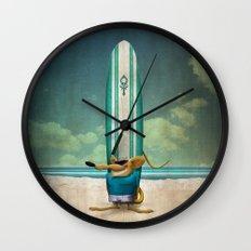Beach's Rat Wall Clock