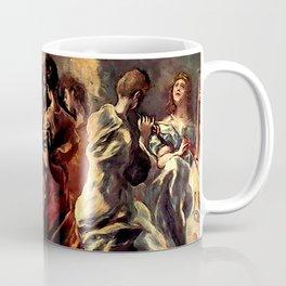"""El Greco (Domenikos Theotokopoulos) """"Concert of Angels"""" Coffee Mug"""