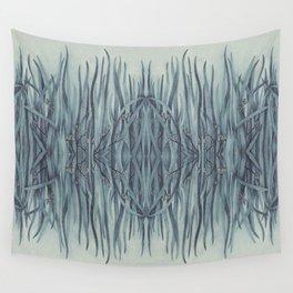 Green-Blue Grass Wall Tapestry