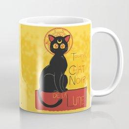 Chat Noir de la Lune Coffee Mug