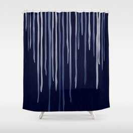 Icy Nights Shower Curtain