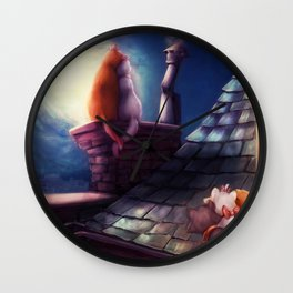 The Aristocats Wall Clock