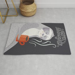 Happy Thoughts – Sloth Rug
