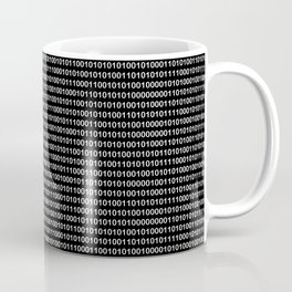 Binary Code in DOS Coffee Mug