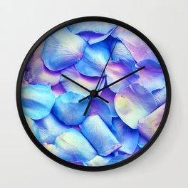 Soft Petals Wall Clock