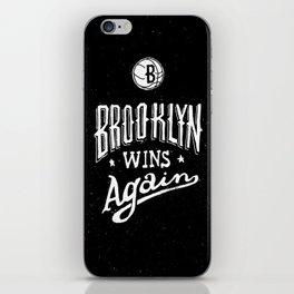 Brooklyn Wins Again (Away) iPhone Skin