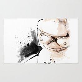 Shibari - Japanese BDSM Art Painting #14 Rug