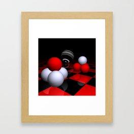 ball pyramids -2- Framed Art Print