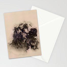 English Cocker Spaniel Sketch Stationery Cards