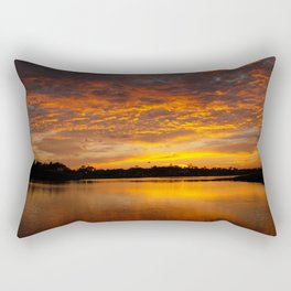 Fire Clouds Rectangular Pillow