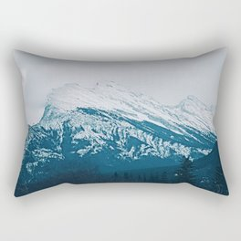 Mt. Rundle Rectangular Pillow