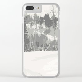 Once upon a time -winter Clear iPhone Case