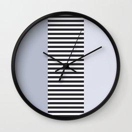 Edda in Blue Wall Clock
