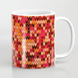 Melange knit textile 3 Coffee Mug